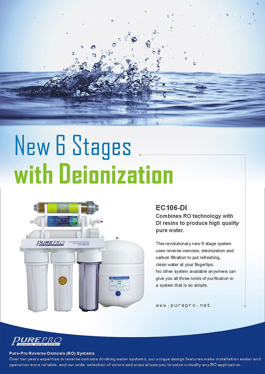 all pure water filter company