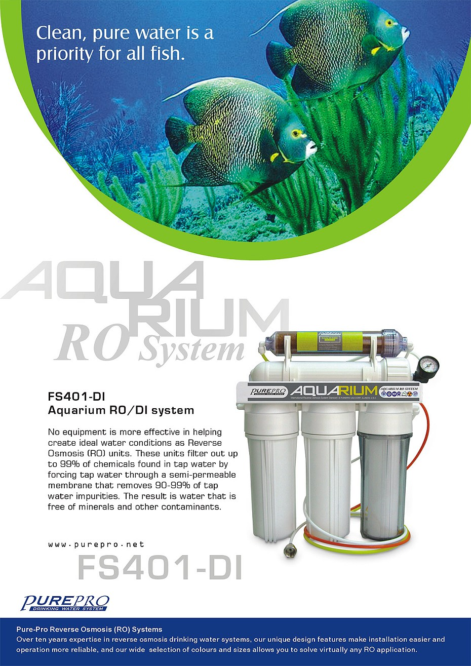 Purepro 174 Aquarium Reverse Osmosis Water Filter Systems