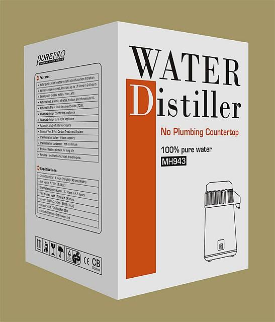 Water Distiller Manual ~ Purepro water distillers